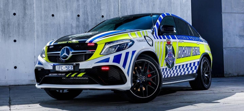 La policía australiana también se cuida bien: Incorporan a su flota un Mercedes-AMG GLE S Coupé de 585 CV 1