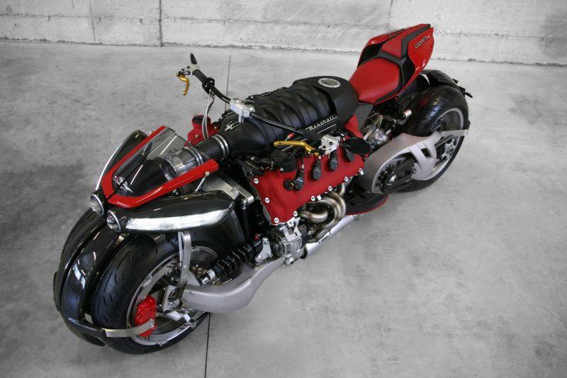 Lazareth LM 847: Una moto con cuatro ruedas y motor V8 Maserati 4