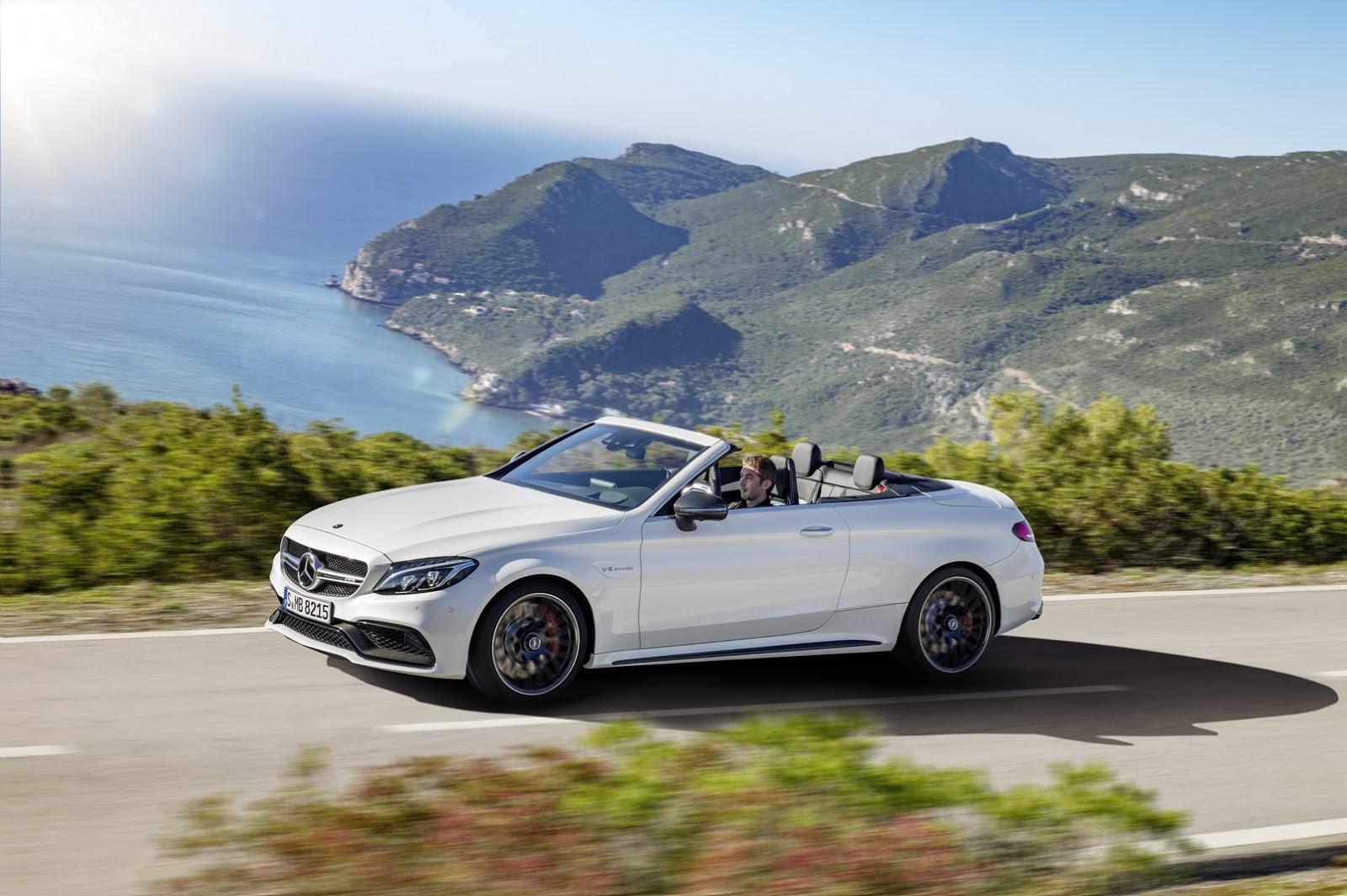 Mercedes-AMG C63 Cabriolet: La capota fuera y los 510 CV fuera 4