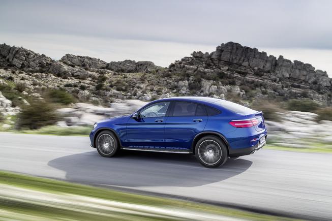 Oficial: Mercedes GLC Coupé, primeras imágenes e información 4