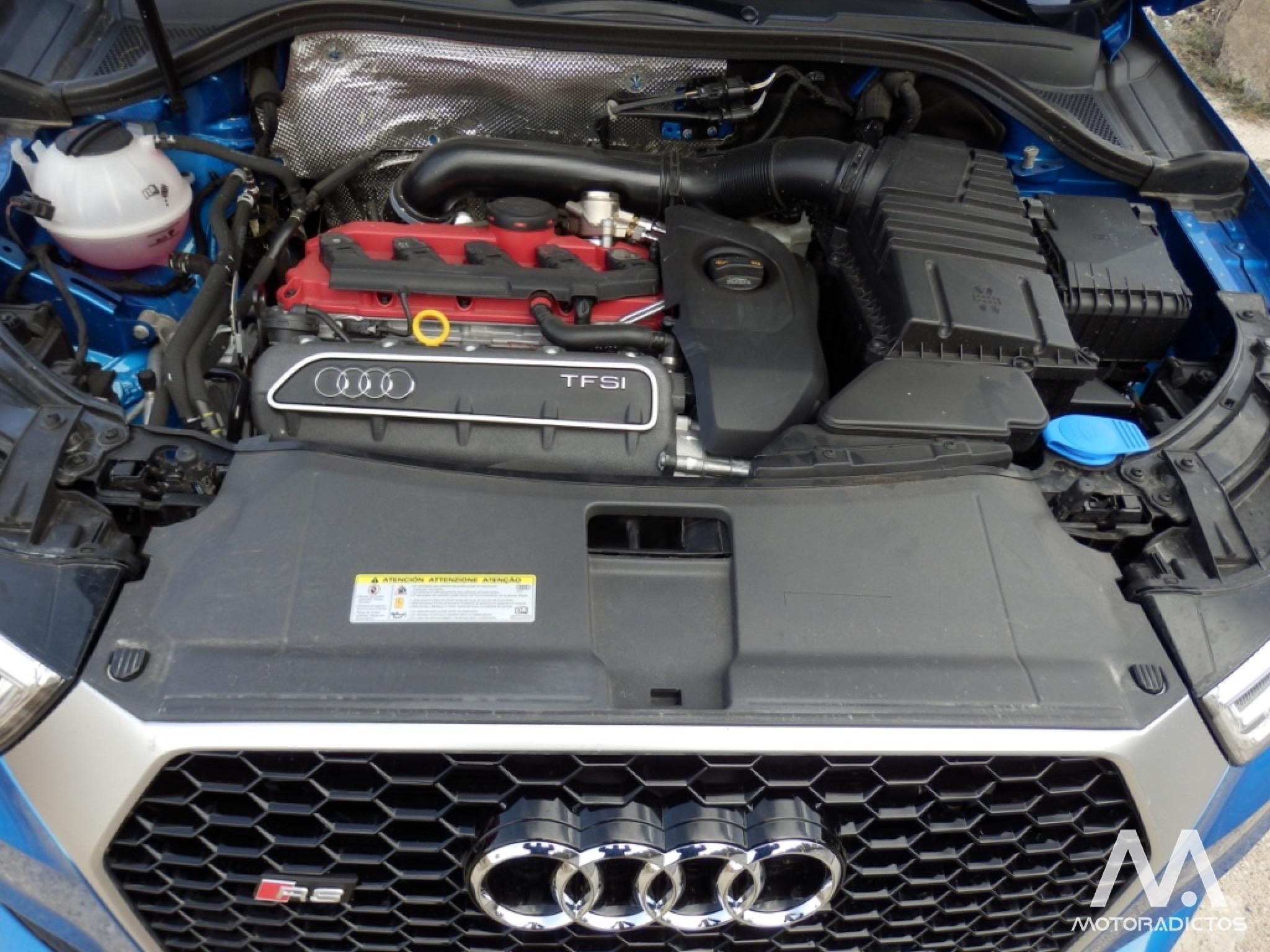 Prueba: Audi RS Q3 2.5 TFSI 340 CV (diseño, habitáculo, mecánica) 13