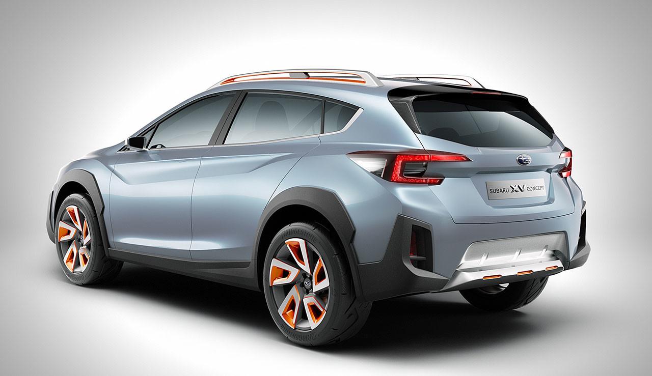 Subaru XV Concept: Anticipando la nueva generación que llegará en 2018 2