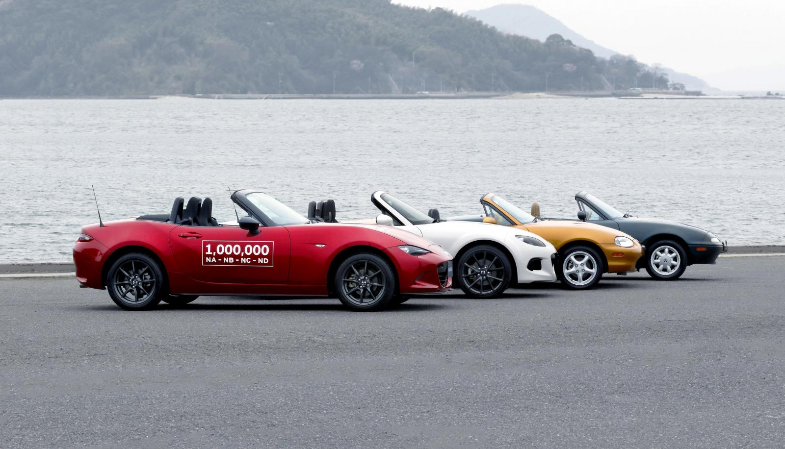 1.000.000 de Mazda MX-5 ya se han fabricado: El legendario roadster sigue batiendo récords... 1