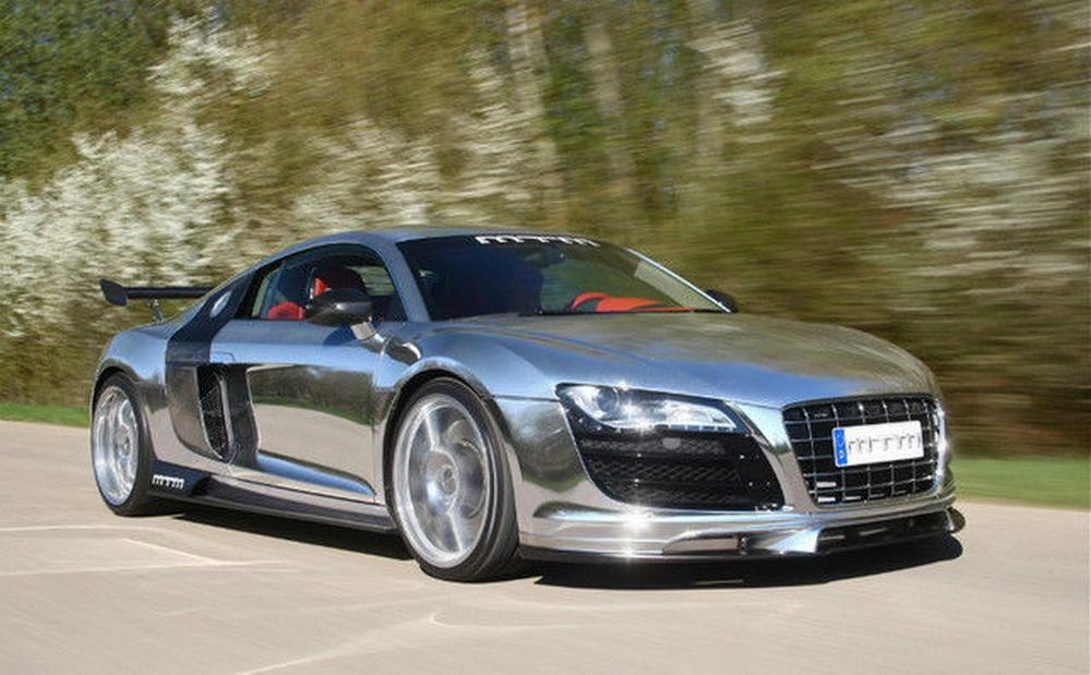 ¿Cuánto pagarías por este Audi R8 de MTM cromado con 802 CV? 1