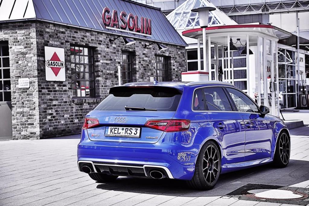 ¿Es posible hacer un Audi RS3 Sportback más rápido que un Audi R8? Oettinger lo hace realidad 2