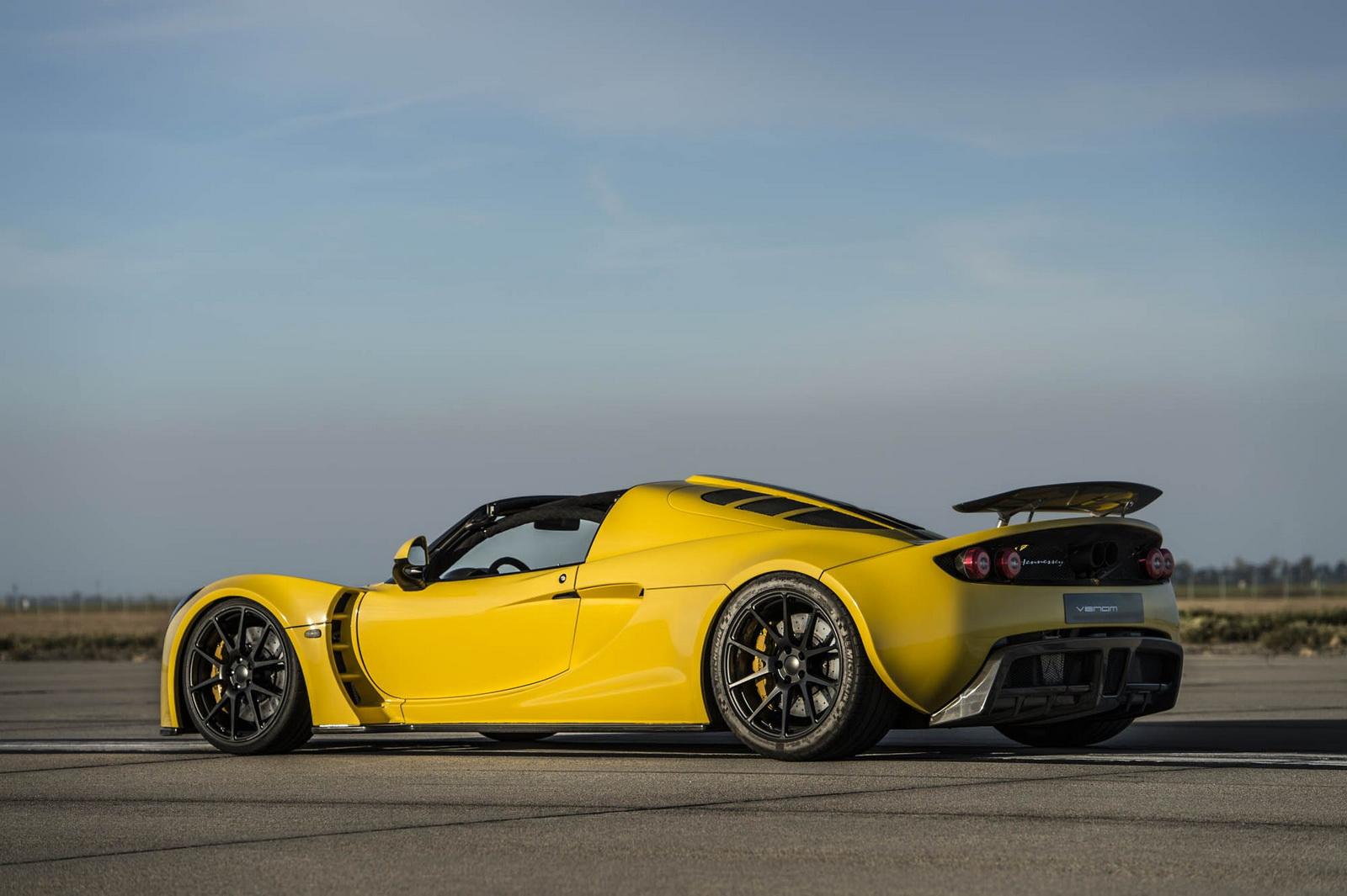 Hennessey Venom GT Spyder: Con todos ustedes, el descapotable más rápido del mundo 1