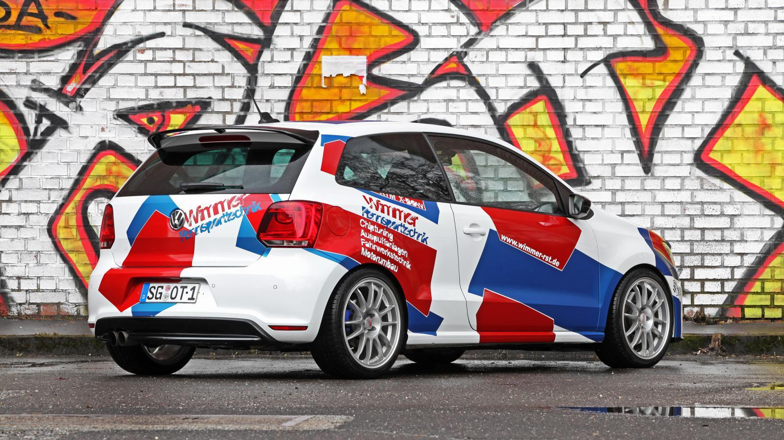 ¡Increíble! El Volkswagen Polo R WRC Street tiene 420 CV sobre el 2.0 TSI 3
