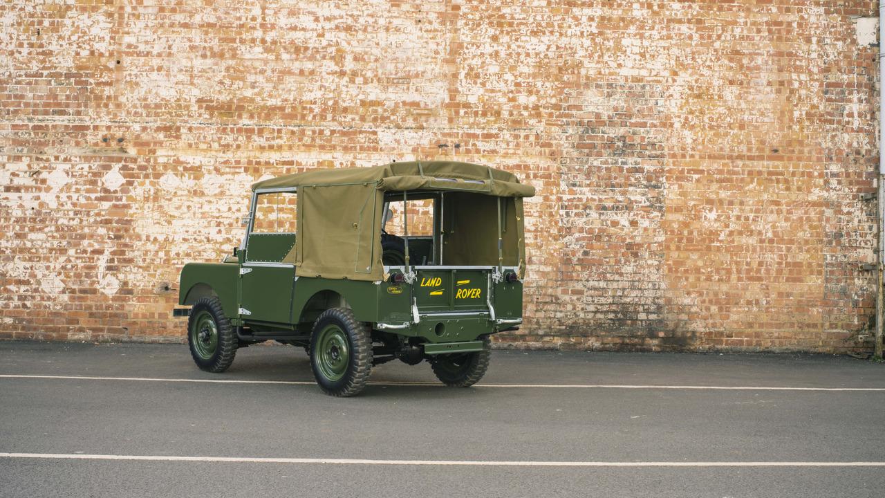 Land Rover pondrá a la venta 25 unidades totalmente restauradas del Serie 1 de 1948 2