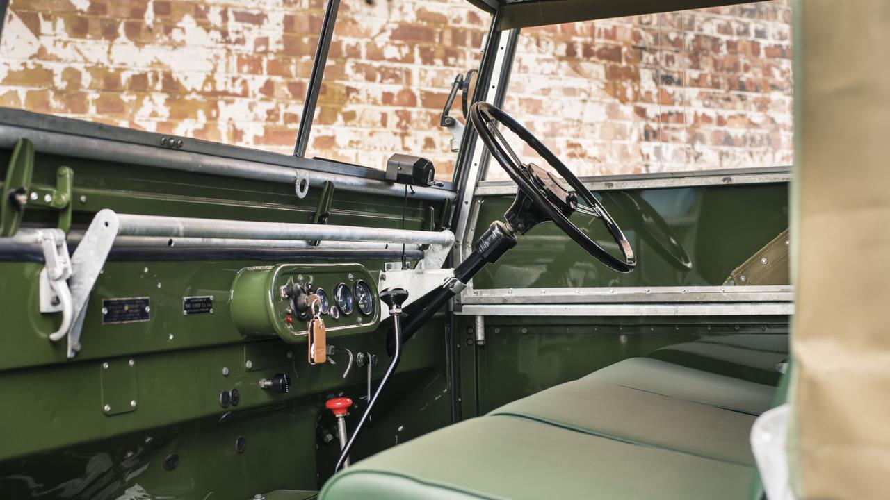 Land Rover pondrá a la venta 25 unidades totalmente restauradas del Serie 1 de 1948 3