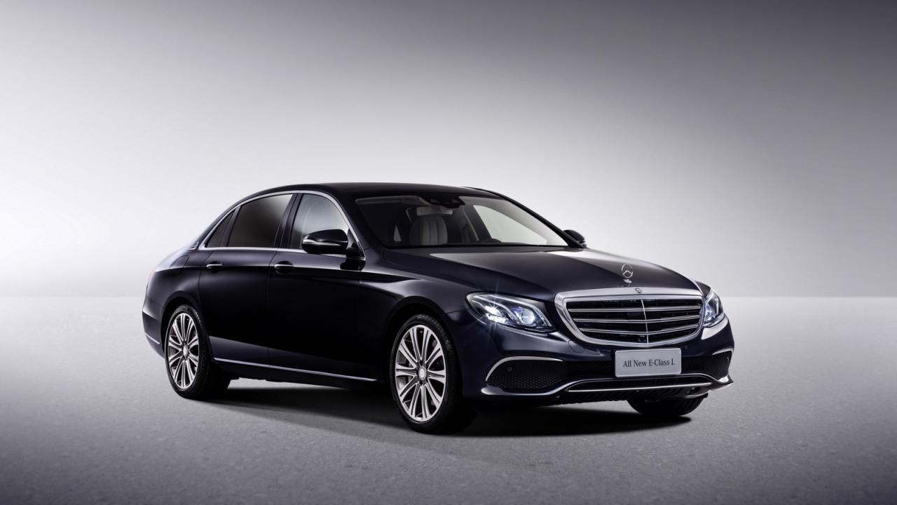 Mercedes Clase E Limusina, solo para China 3