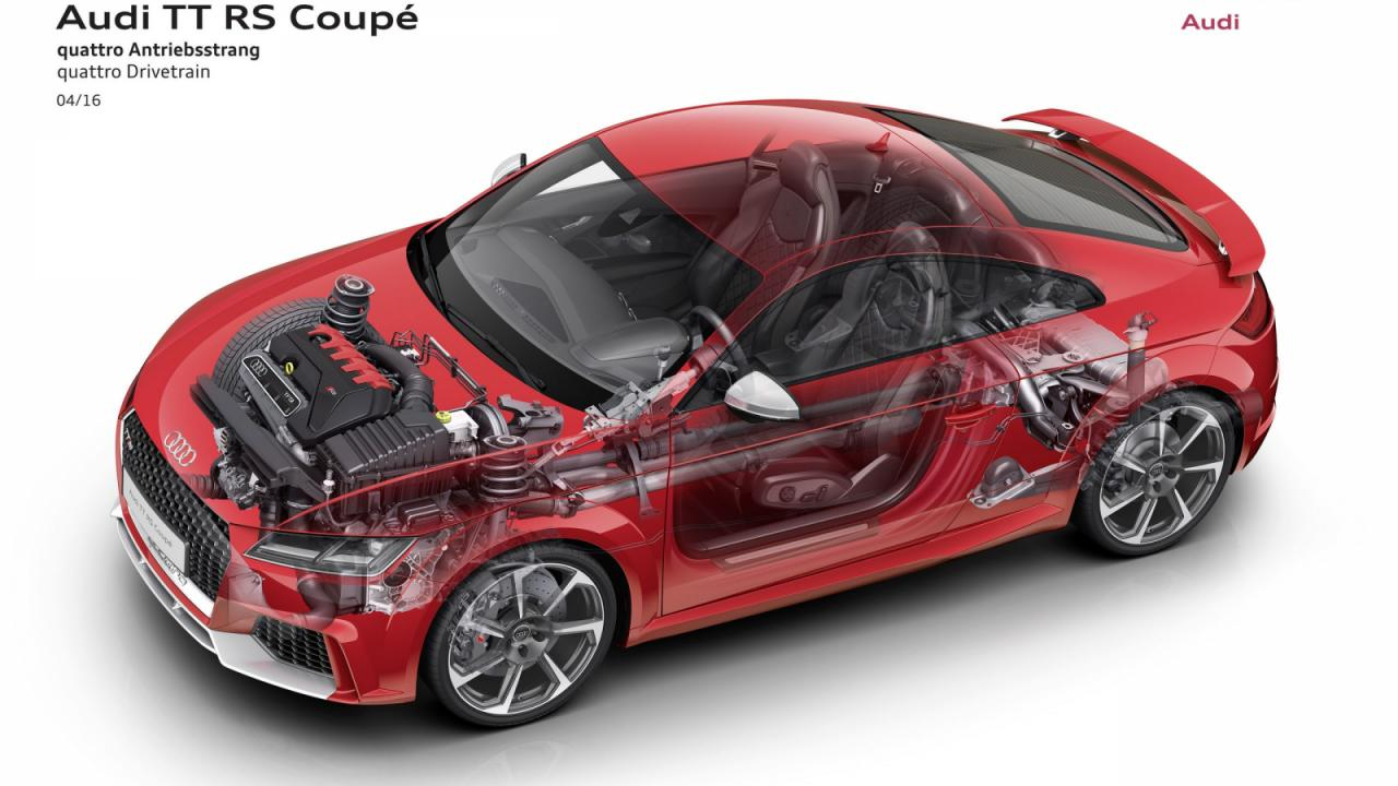 Oficial: nuevo Audi TT-RS, 400 caballos de potencia y a 100 en 3.7 segundos 1