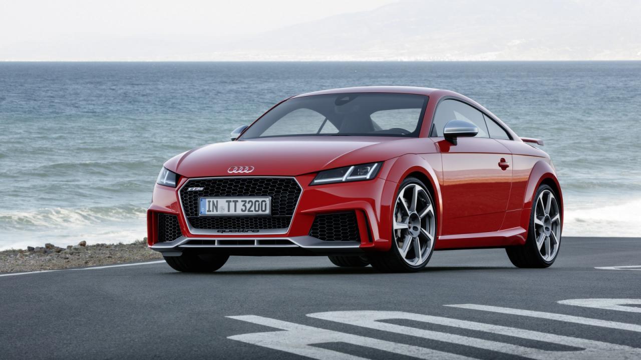 Oficial: nuevo Audi TT-RS, 400 caballos de potencia y a 100 en 3.7 segundos 2
