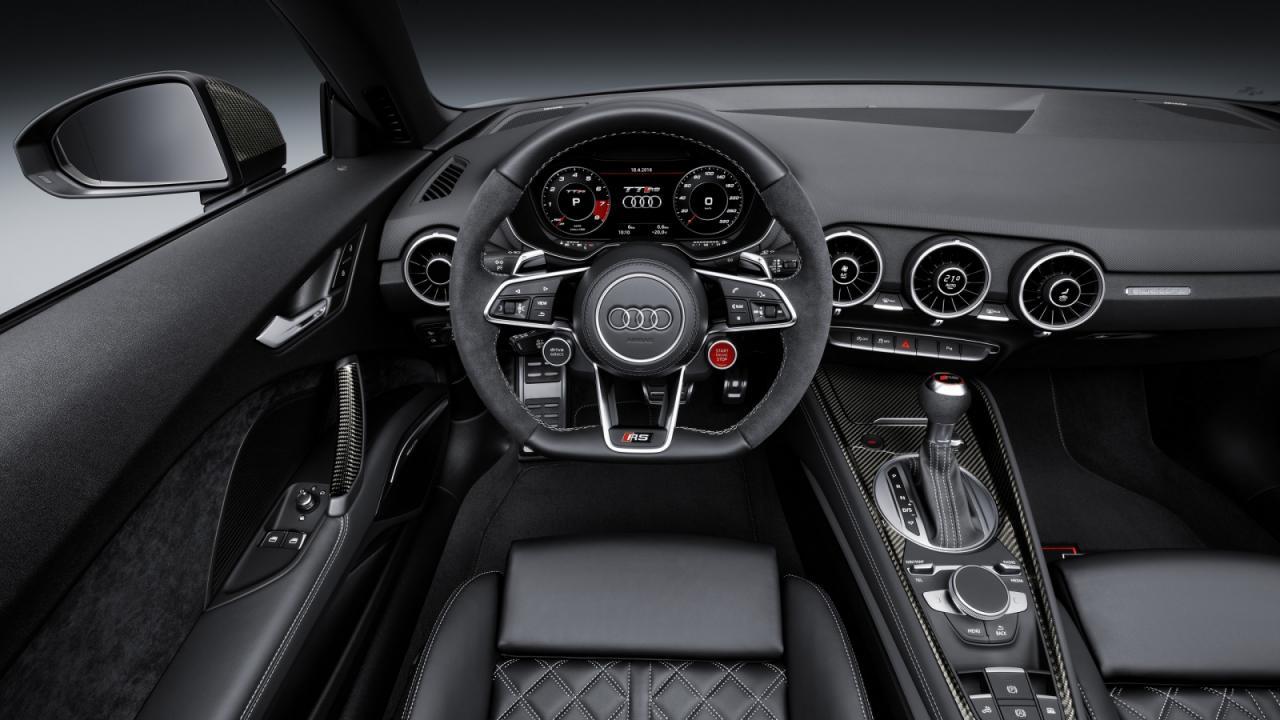 Oficial: nuevo Audi TT-RS, 400 caballos de potencia y a 100 en 3.7 segundos 3