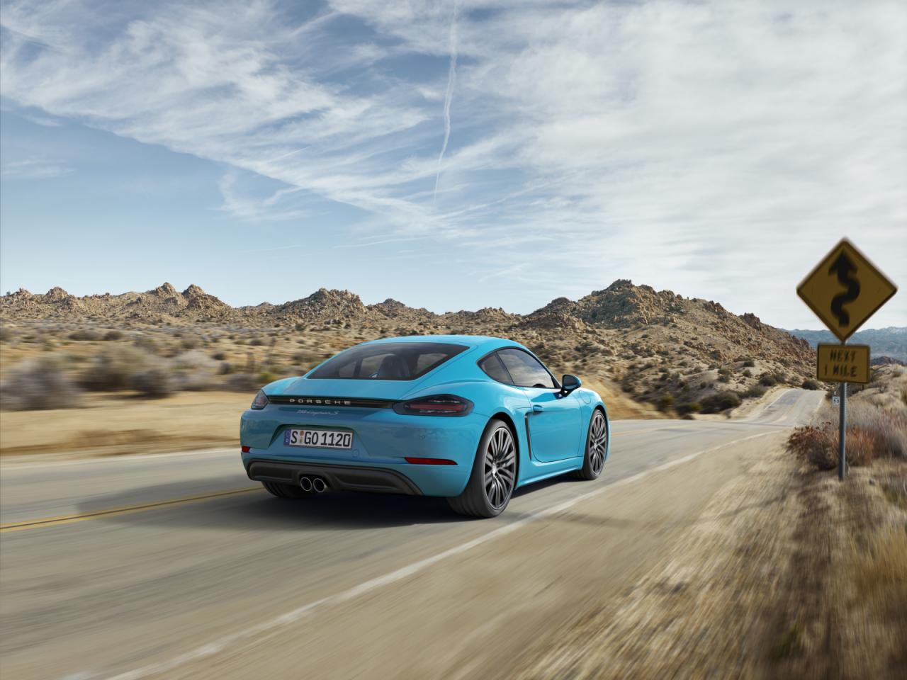 Oficial: Porsche 718 Cayman, con motores de cuatro cilindros 3