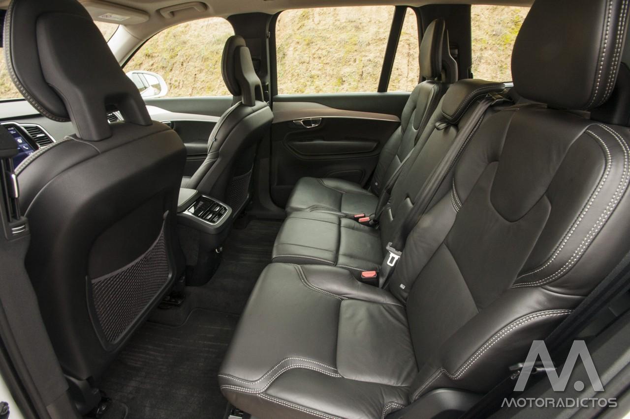 Prueba: Volvo XC90 D5 AWD (diseño, habitáculo, mecánica) 8
