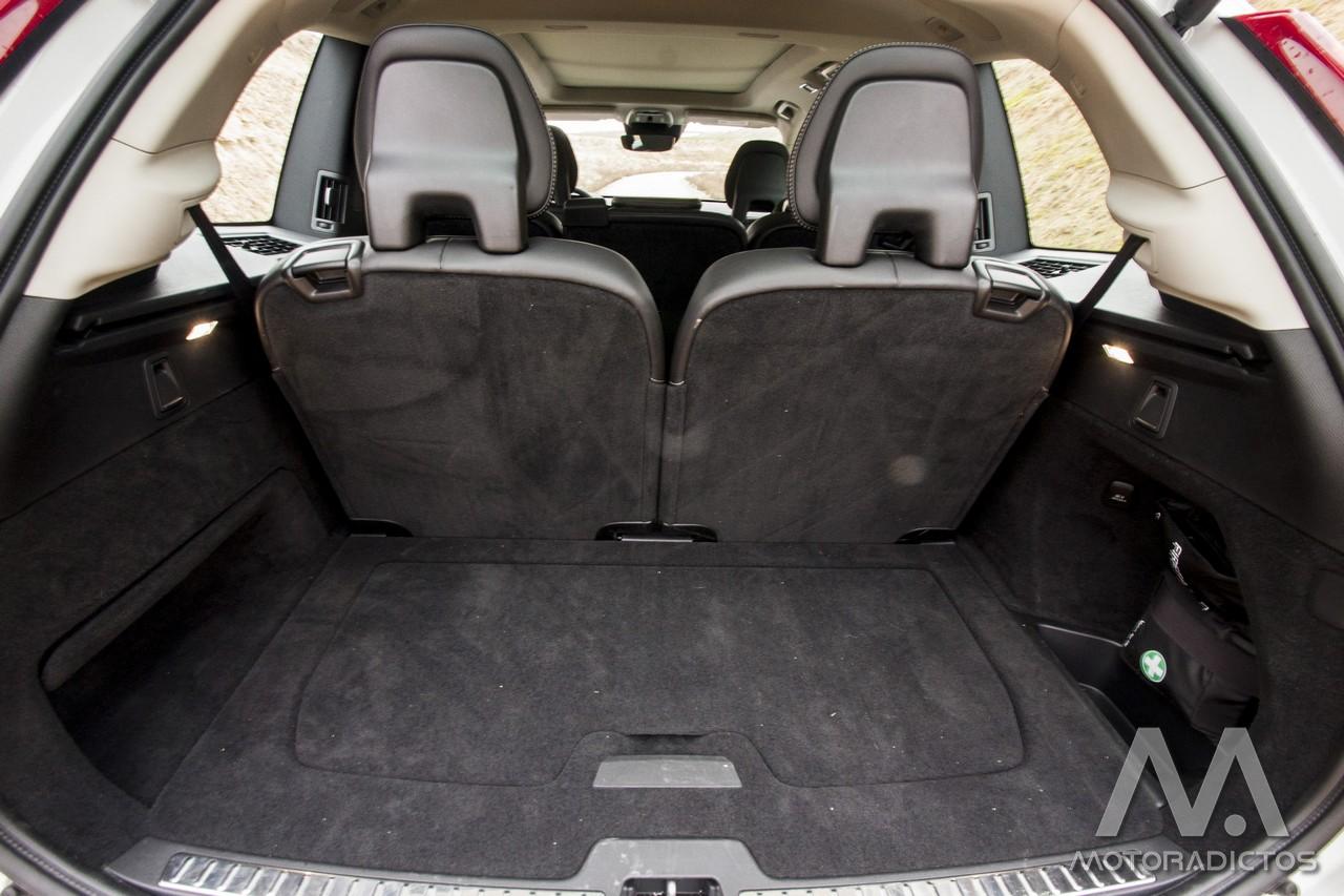 Prueba: Volvo XC90 D5 AWD (diseño, habitáculo, mecánica) 12