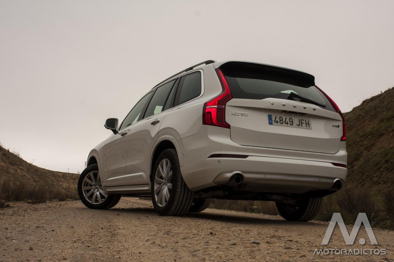 Prueba: Volvo XC90 D5 AWD (equipamiento, comportamiento, conclusión) 2