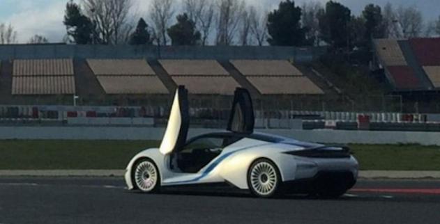 Se filtra el prototipo de superdeportivo de BAIC antes de su presentación 1