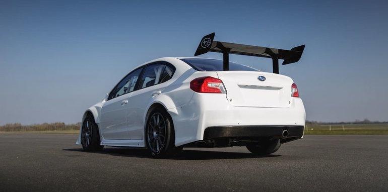 Subaru y Prodrive dan a luz un WRX STI con el que romper récords en la Isla de Man 2