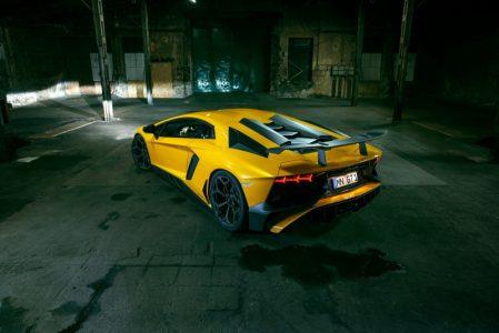 Lamborghini Aventador SV por Novitec Torado: Fibra de carbono, llantas Vossen y 786 caballos