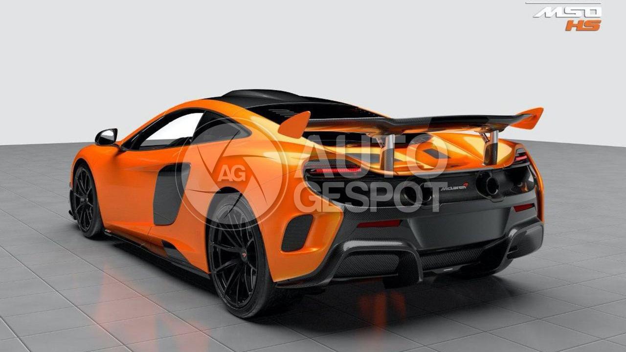 ¿Al descubierto? McLaren 688 HS, el Super Series más rápido 2