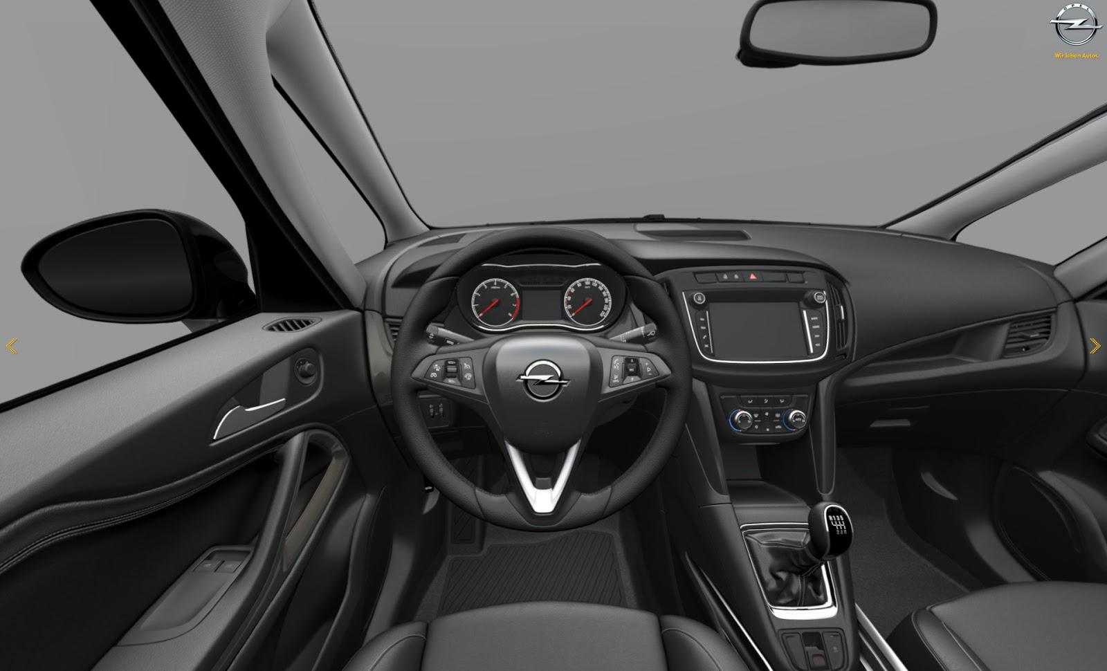 Así luce la nueva renovada Opel Zafira Tourer: Renovación interior y exterior 3