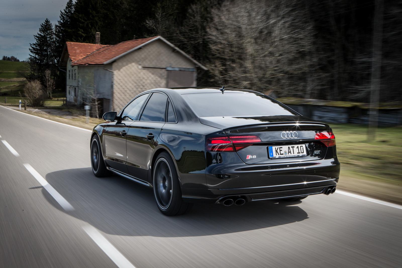 Audi S8 Plus por ABT: Un lujoso avión de 705 CV para largos viajes en la Autobahn 2