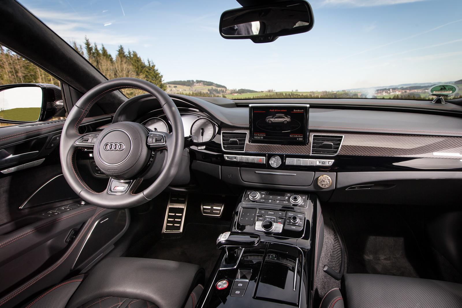 Audi S8 Plus por ABT: Un lujoso avión de 705 CV para largos viajes en la Autobahn 4