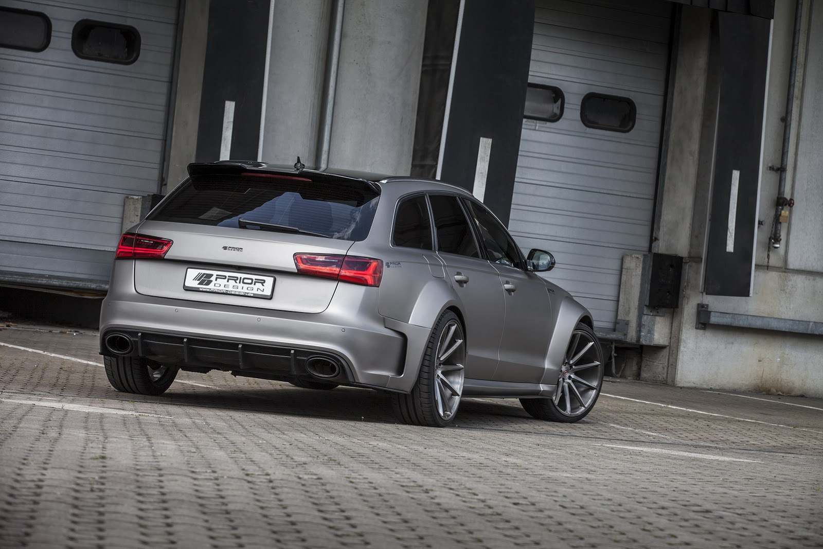 Aumenta la gordura de tu Audi A6/RS6 Avant con el kit de Priori Design PD600R 4