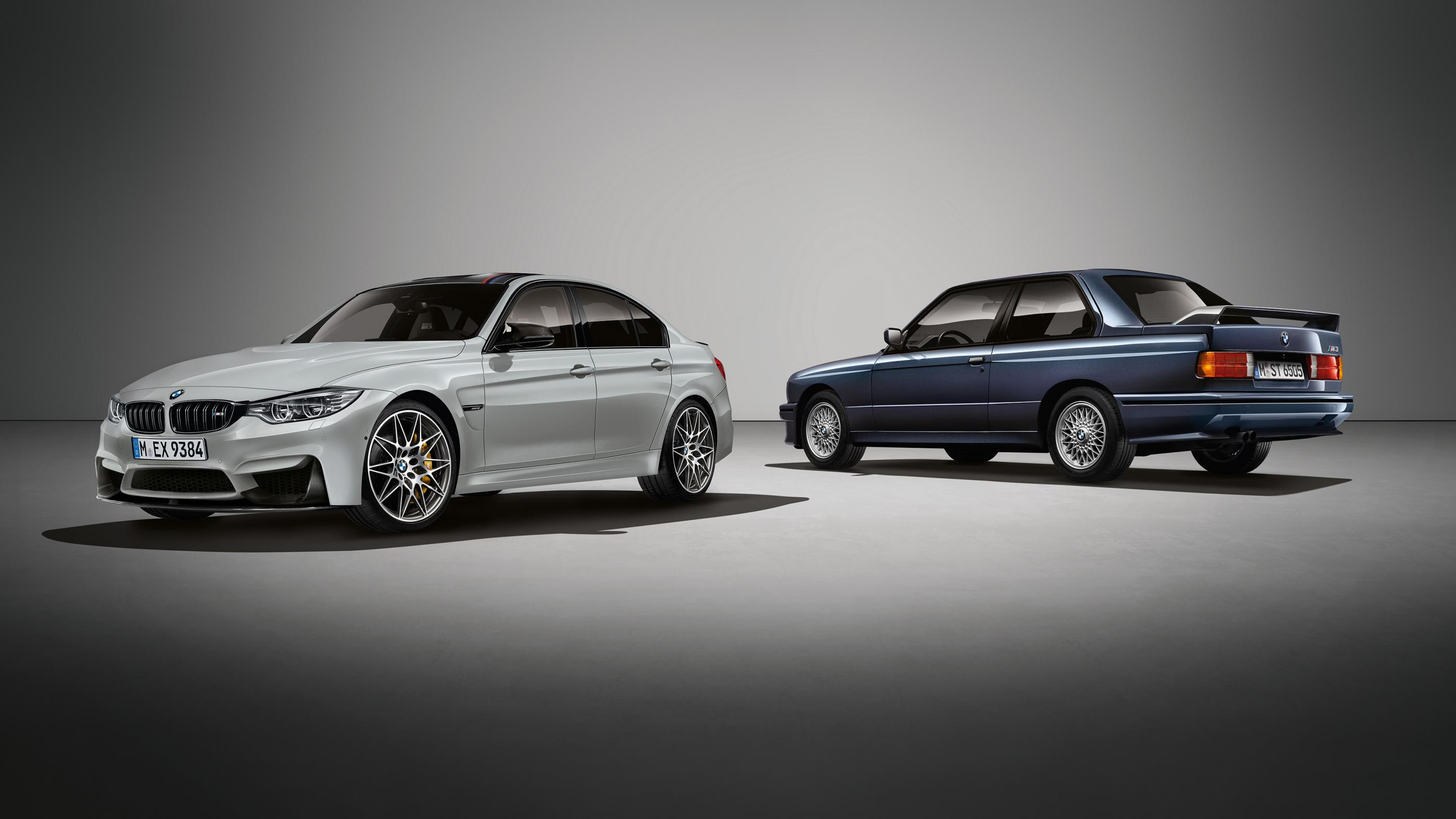BMW M3 '30 Jahre': 500 unidades para celebrar el 30 aniversario 1