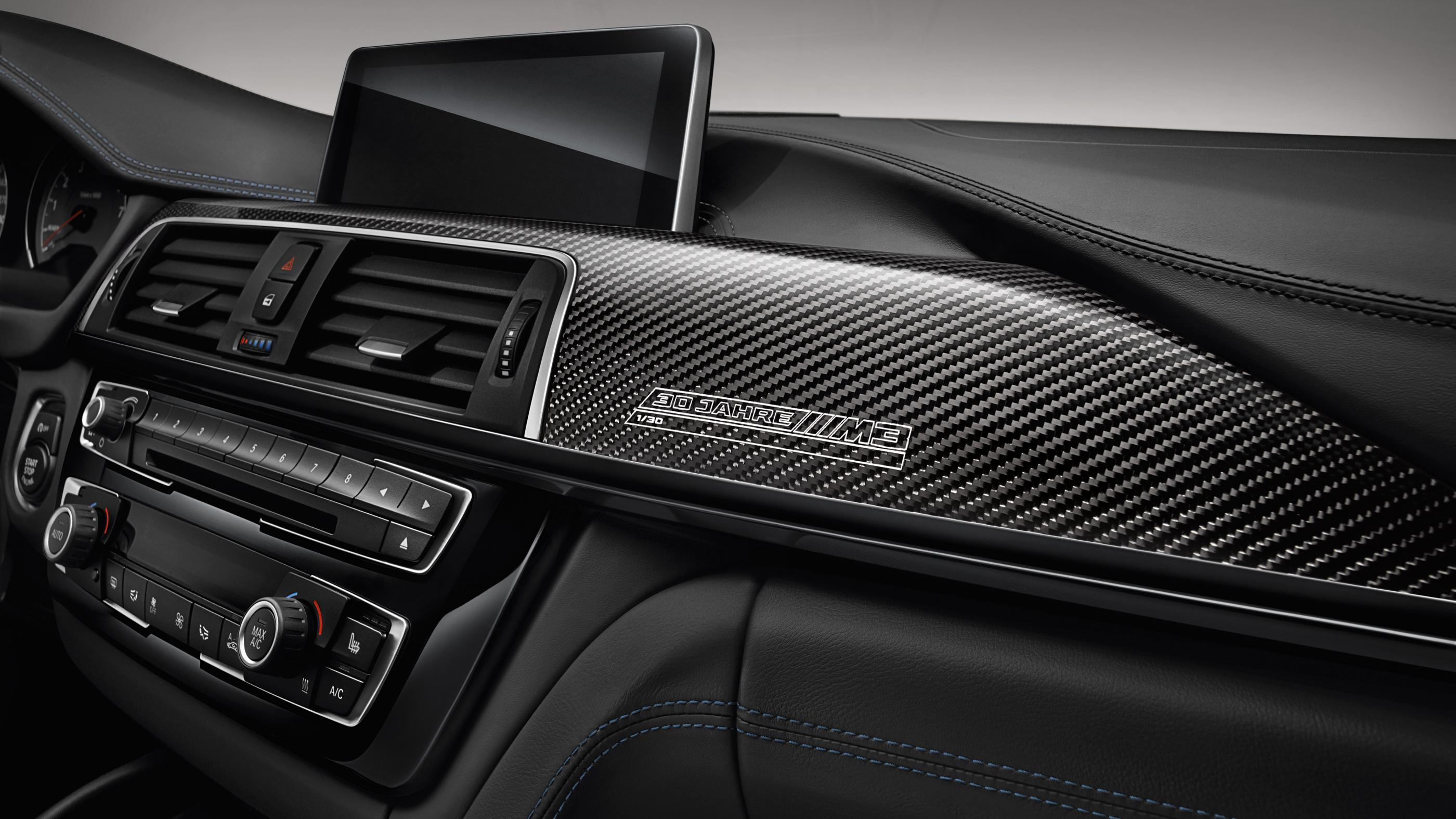 BMW M3 '30 Jahre': 500 unidades para celebrar el 30 aniversario 9