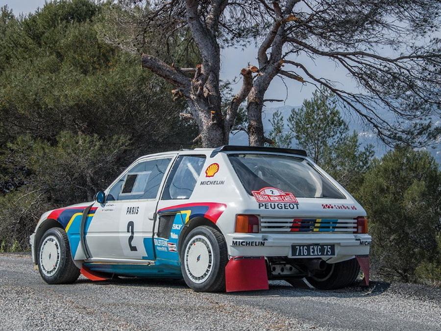 El Peugeot 205 T16 de Ari Vatanen sale a subasta: Su precio será prohibitivo... 2
