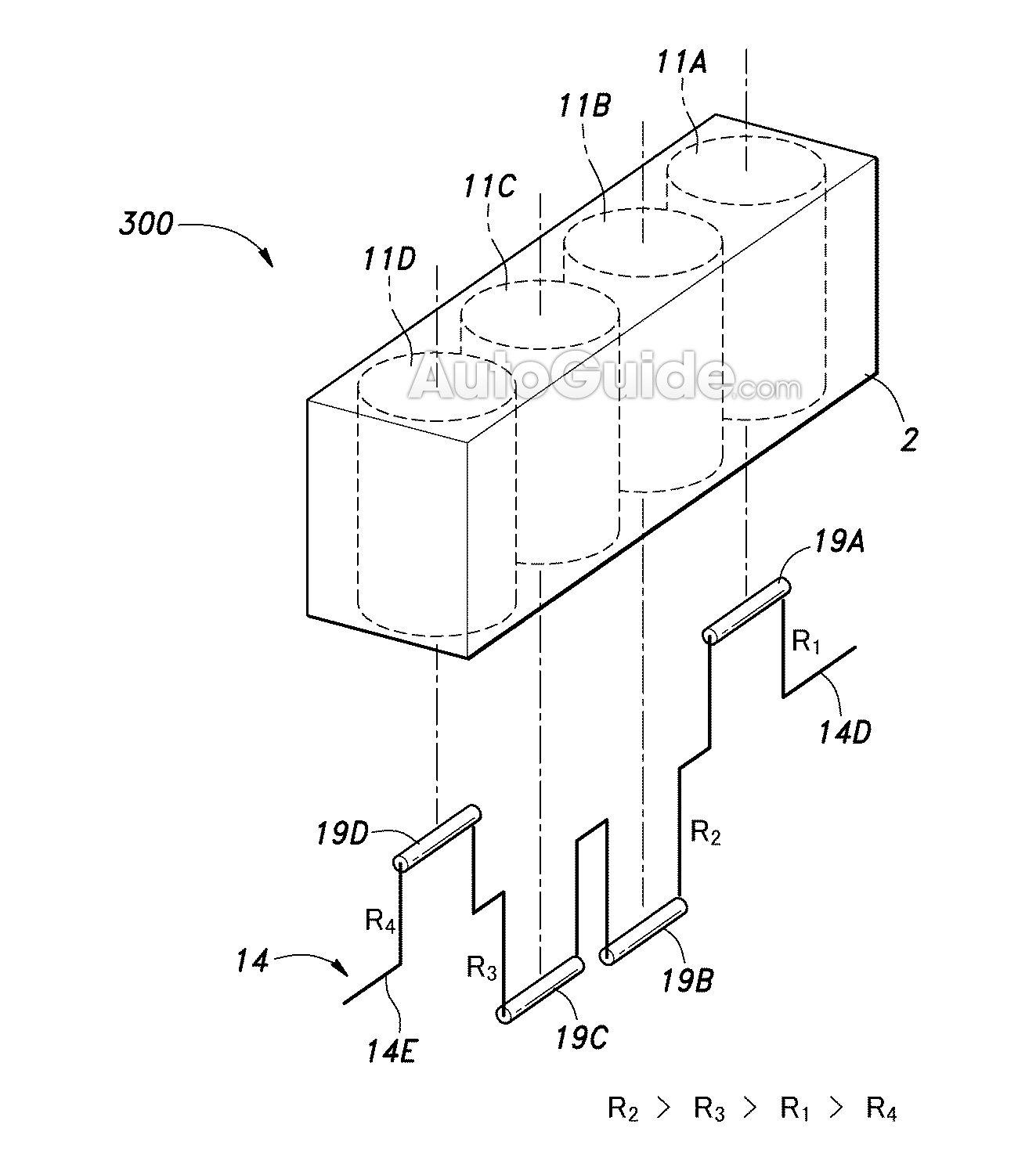 Honda patenta un motor con diferentes cilindradas 2