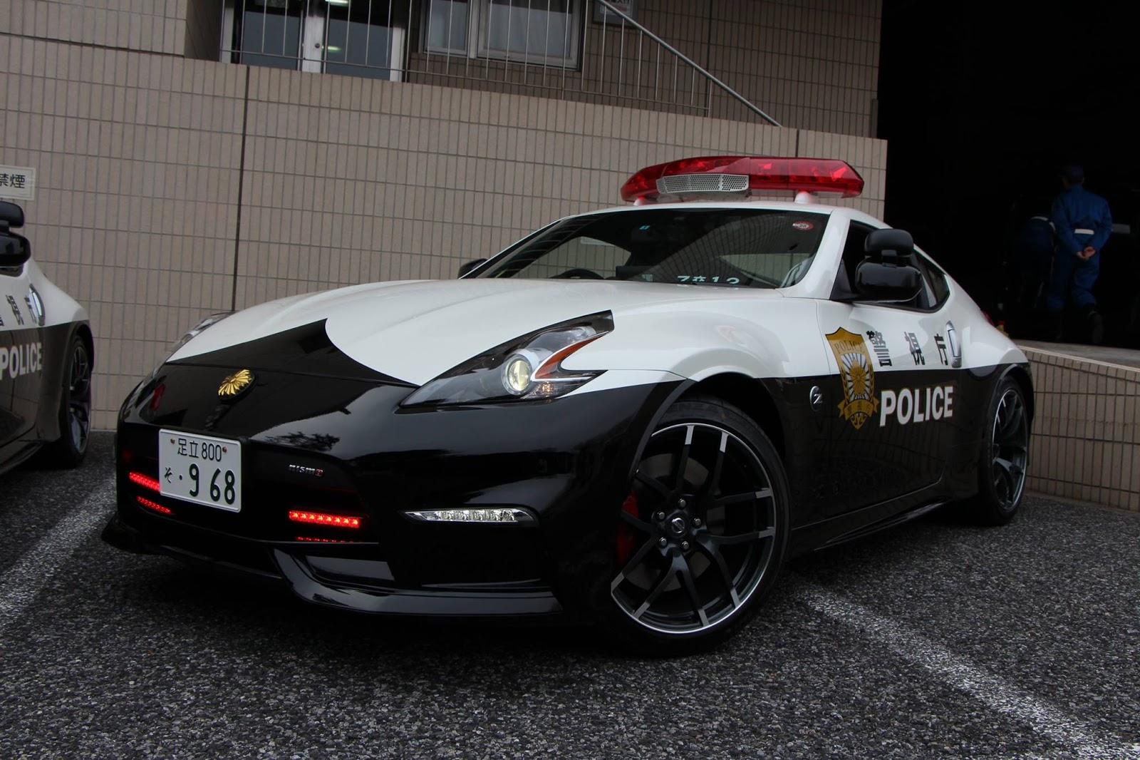 La policía de Tokio recibe tres Nissan 370Z NISMO: Ya no podrás escapar de ellos... 1