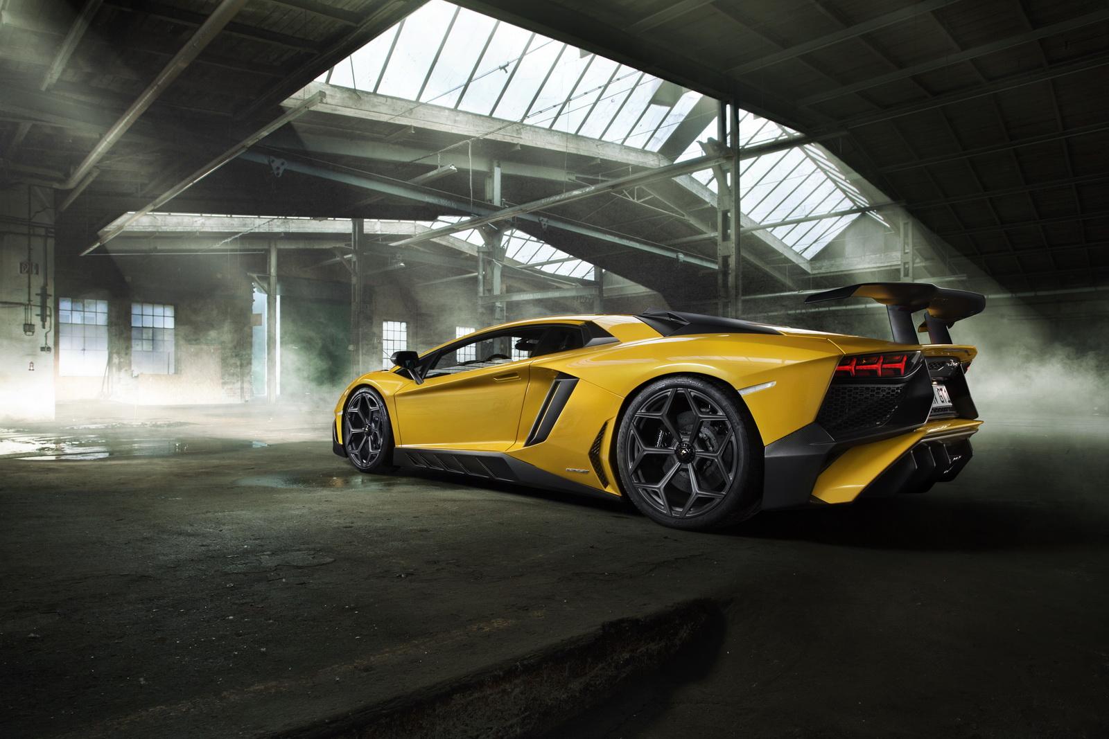 Lamborghini Aventador SV por Novitec Torado: Fibra de carbono, llantas Vossen y 786 caballos 2