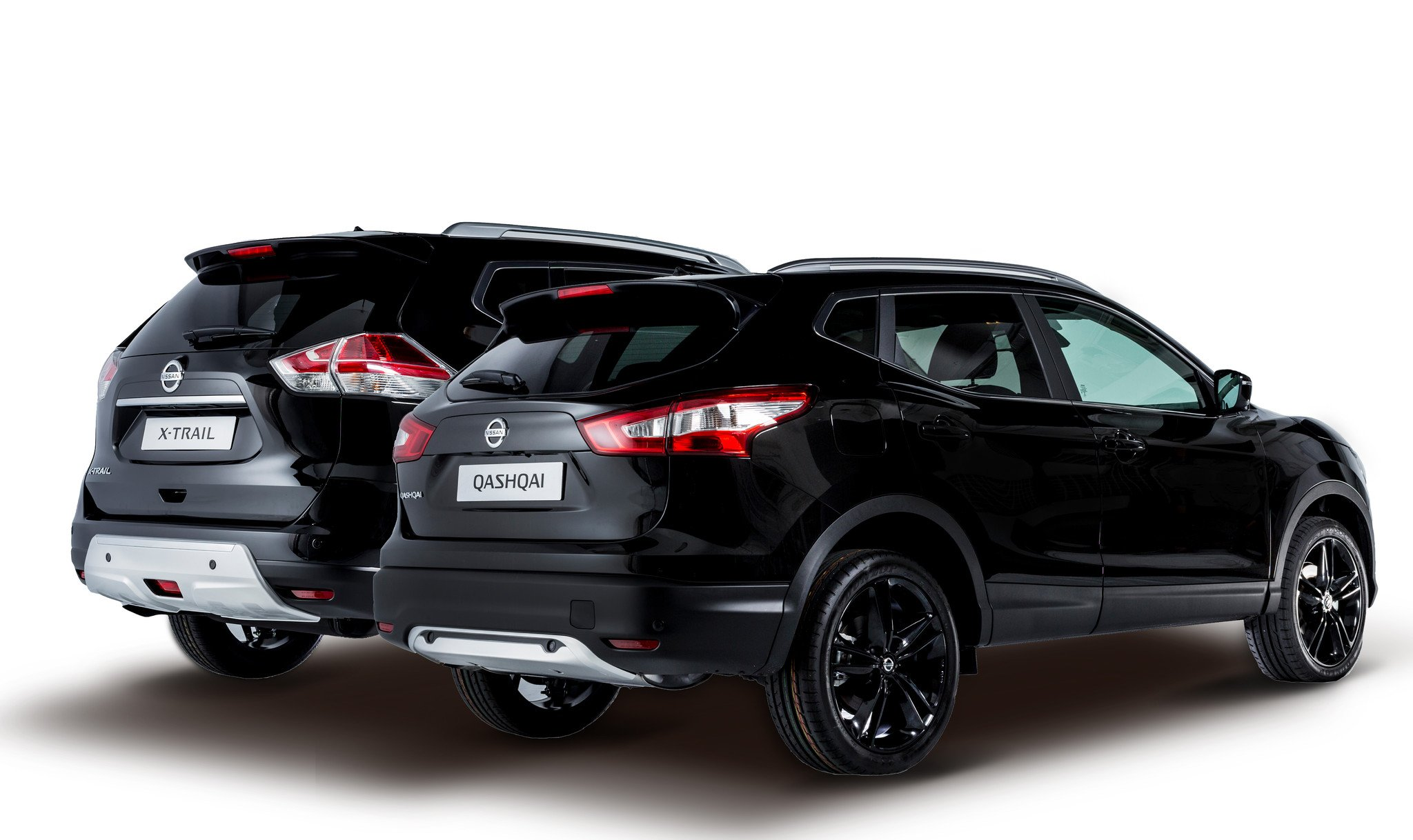 Nissan X-trail y Qashqai Black Edition: 300 unidades más equipadas 2