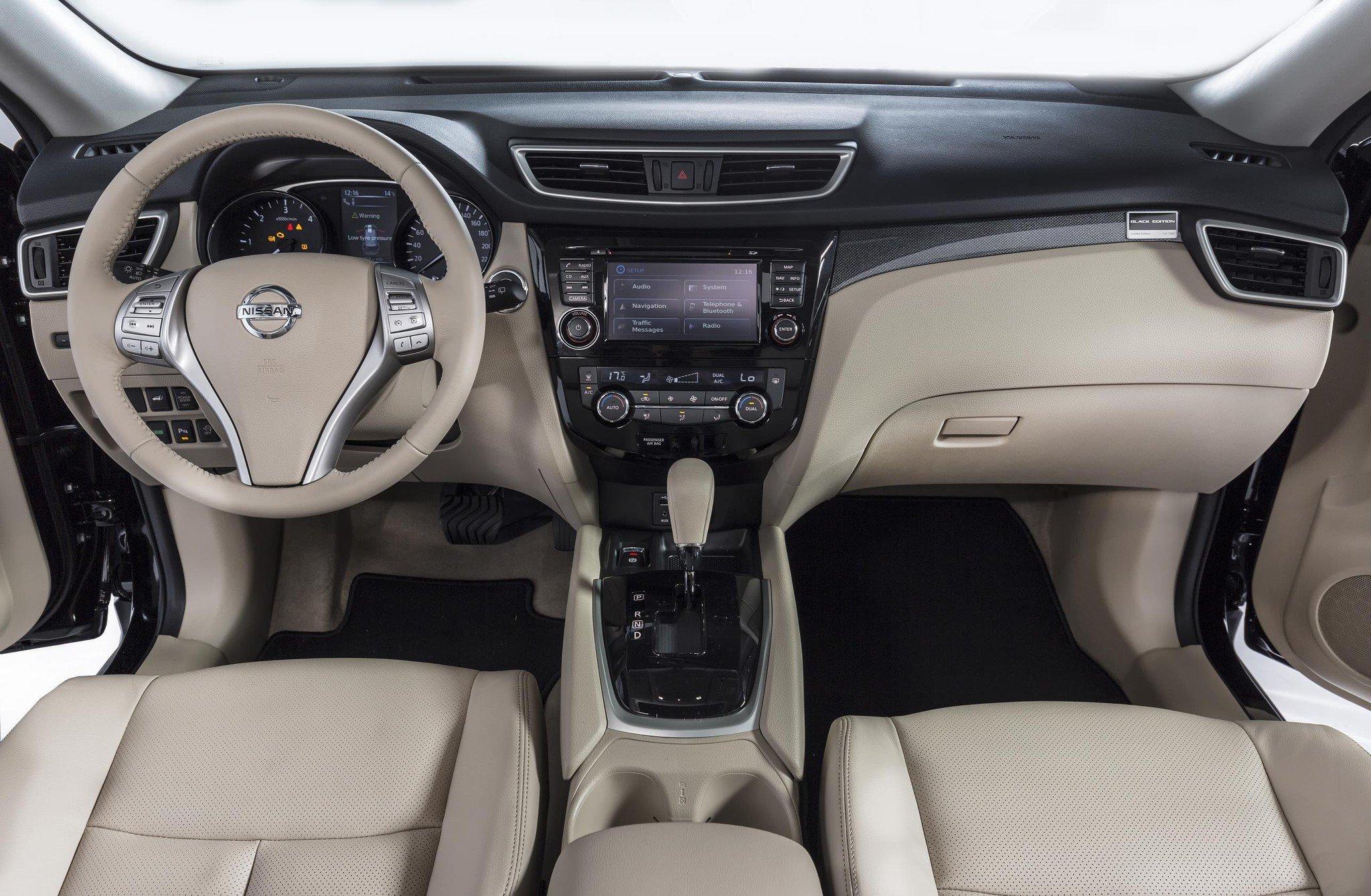 Nissan X-trail y Qashqai Black Edition: 300 unidades más equipadas 4