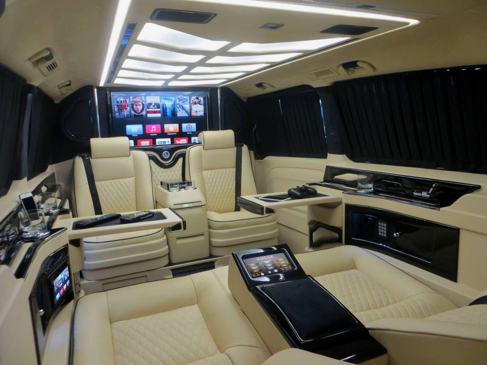 ¿Pagarías 176.000 euros por una Mercedes Clase V muy lujosa? 1