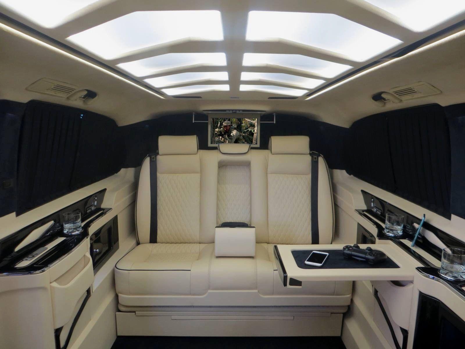 ¿Pagarías 176.000 euros por una Mercedes Clase V muy lujosa? 3