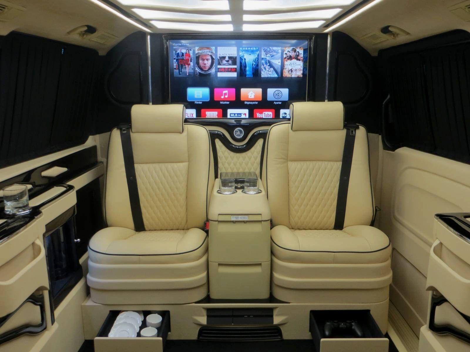 ¿Pagarías 176.000 euros por una Mercedes Clase V muy lujosa? 5