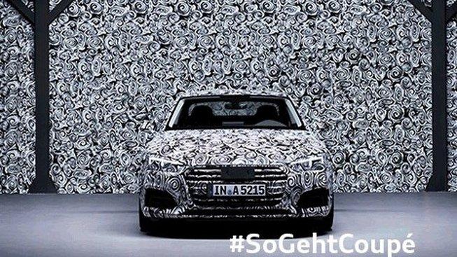 Primer anticipo oficial del nuevo Audi A5 2