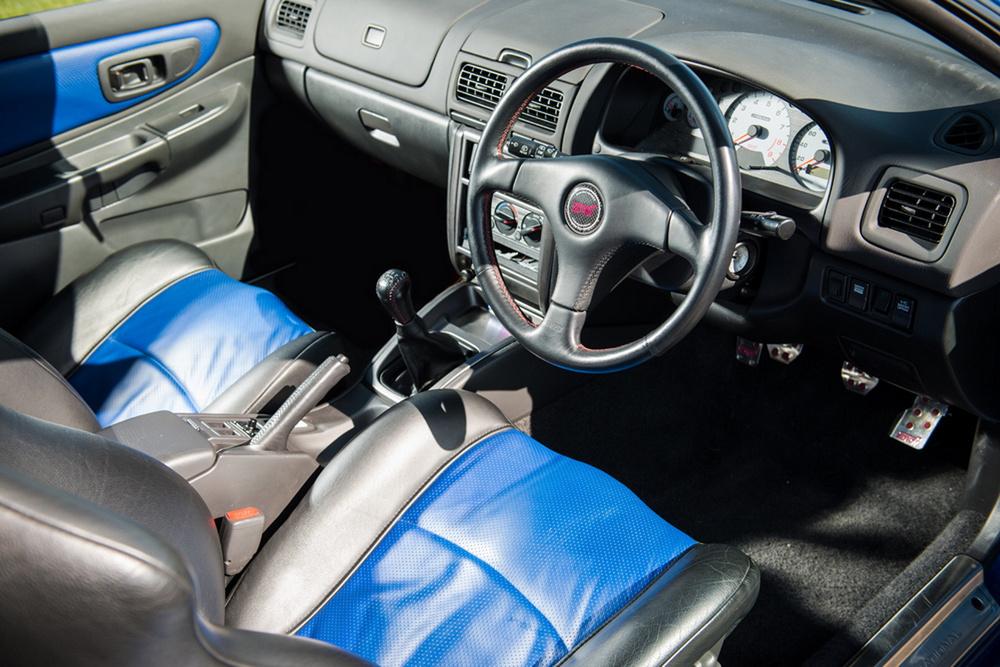 Sale a subasta un Subaru Impreza STI 22B con 4.000 kilómetros 1