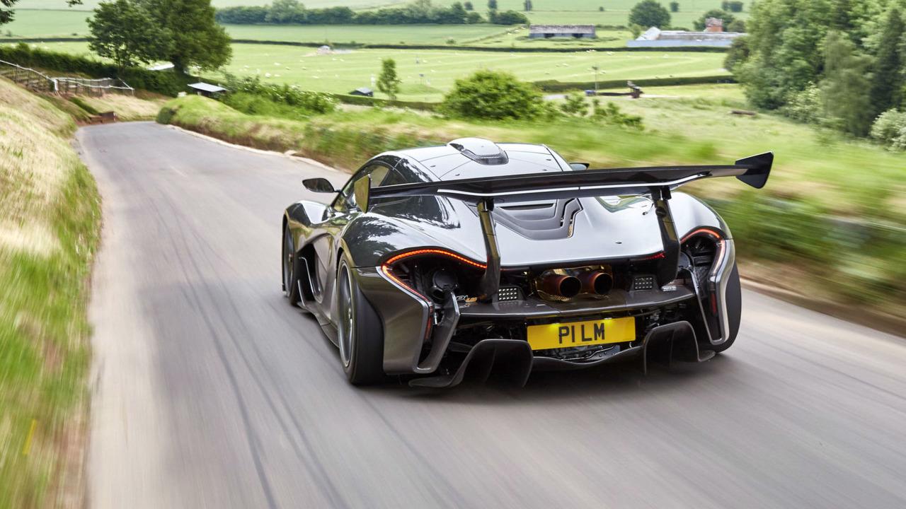 Así es el McLaren P1 LM apto para circular por carretera 3