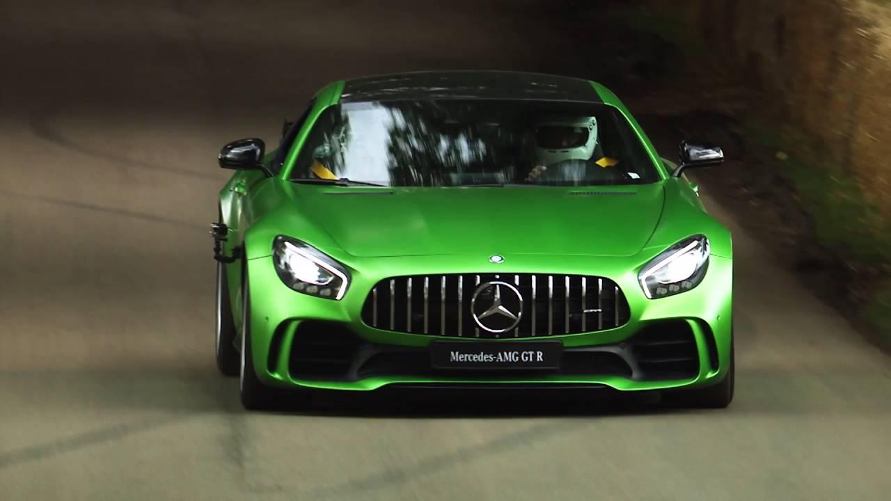 Así rueda el Mercedes AMG GT R en Goodwood
