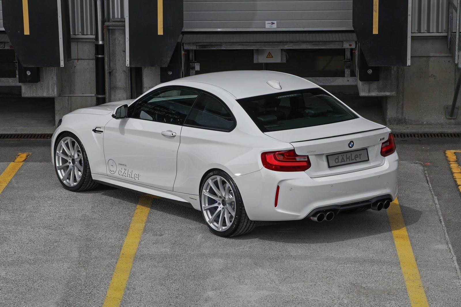 Dähler le mete el motor S55 del BMW M4 en el BMW M2 y lo potencia hasta los 540 CV 4