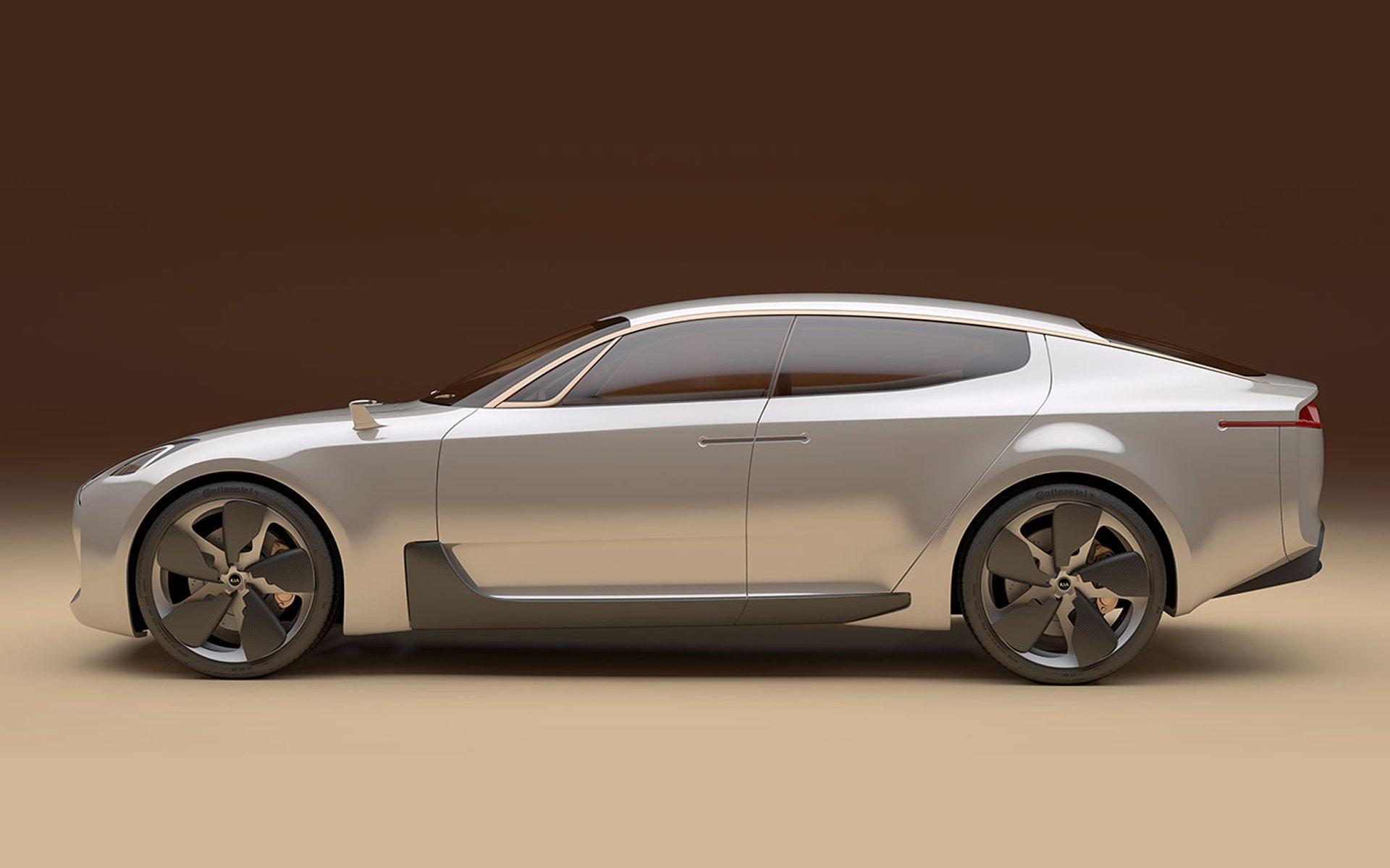 El Kia de propulsión trasera podría llegar el próximo año bajo el nombre de 'Stinger' 1