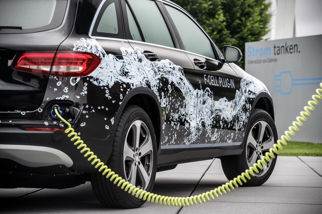 El Mercedes GLC F-Cell llegará al mercado el próximo año 2