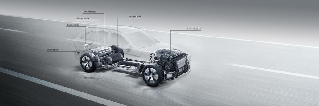 El Mercedes GLC F-Cell llegará al mercado el próximo año 3