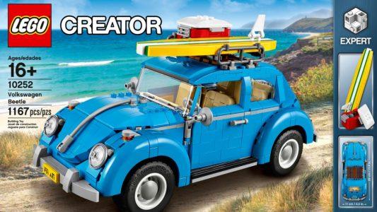 El Volkswagen Beetle clásico vuelve con LEGO: ¡Y está formado por 1.167 piezas!