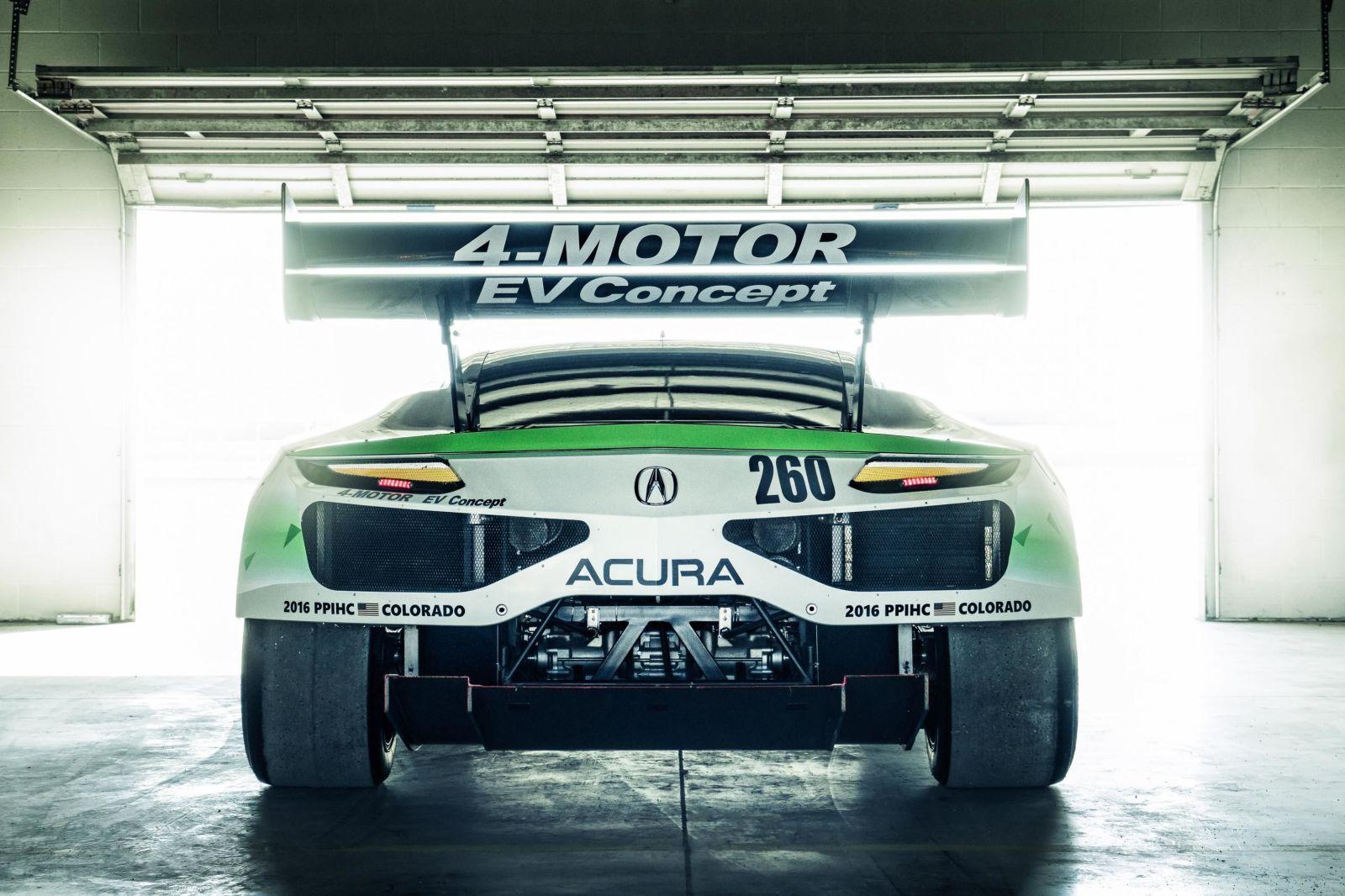 Honda 4-Motor EV Concept: Así es el NSX eléctrico que veremos en la subida al Pikes Peak 1